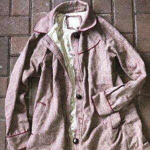 Heritage small light coat